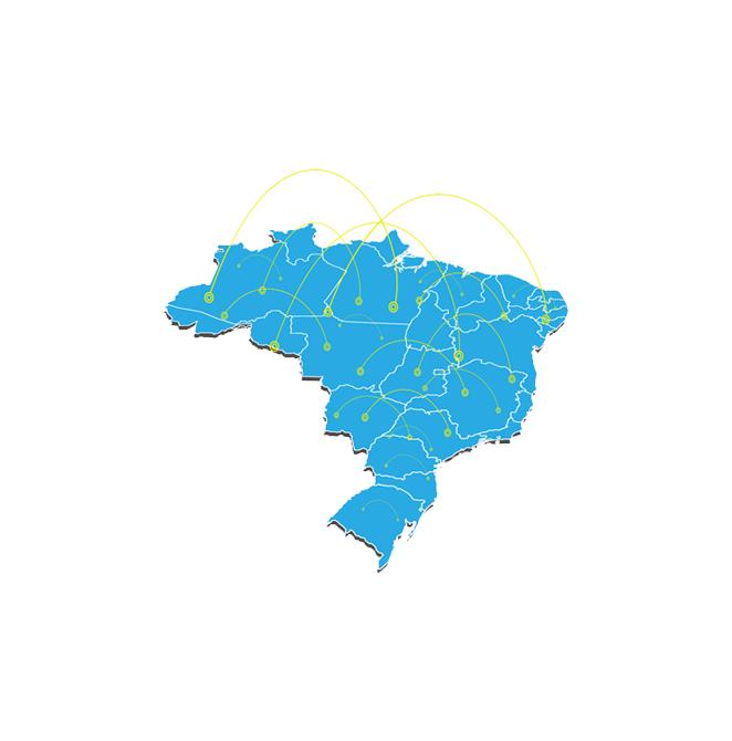 Presente em todo Brasil