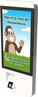 Tropical Banana Totem